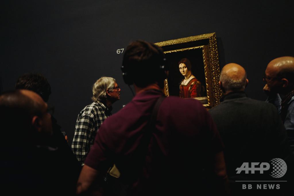 ダビンチ展に110万人、仏ルーブル美術館の最多来館者数を更新