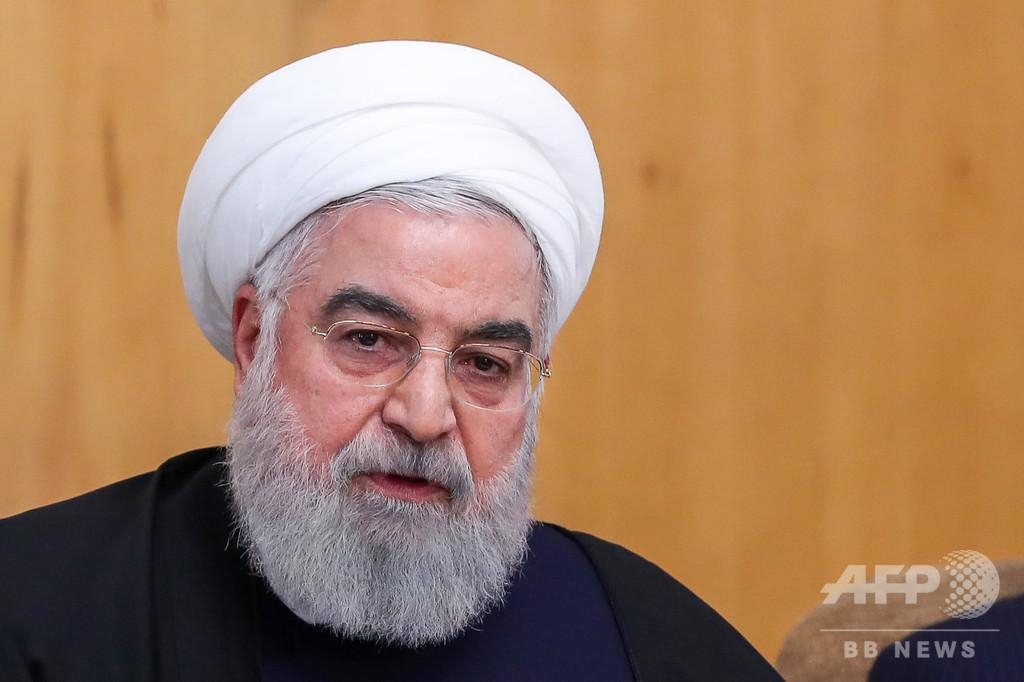 ウクライナ機撃墜、イラン大統領が関係者の処罰誓う