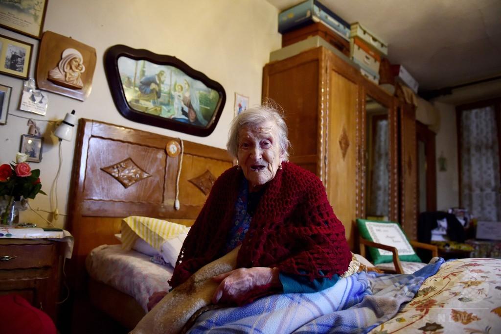 世界最高齢で19世紀生まれ唯一の存命者、長寿の秘訣は?