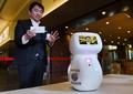 手荷物運びや通訳補助も 羽田空港でロボットの実証実験開始