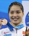 ソニが女子100メートル平泳ぎ連覇、世界水泳