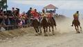 動画:10代の少年ジョッキー疾走! インドネシア伝統の競馬