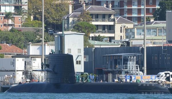 海自潜水艦、豪に初寄港=連携強化で中国けん制