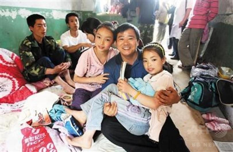 母失った姉妹、「3人のお父さん」に育てられ 四川大地震から10年