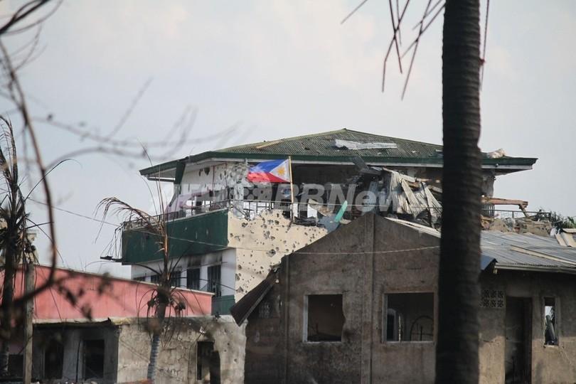 比政府軍、「武装勢力ほぼ制圧」 ミンダナオ島衝突