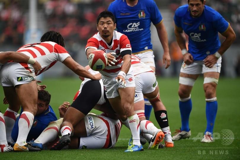 日本が好トライ連発、イタリアとのシリーズ初戦に快勝