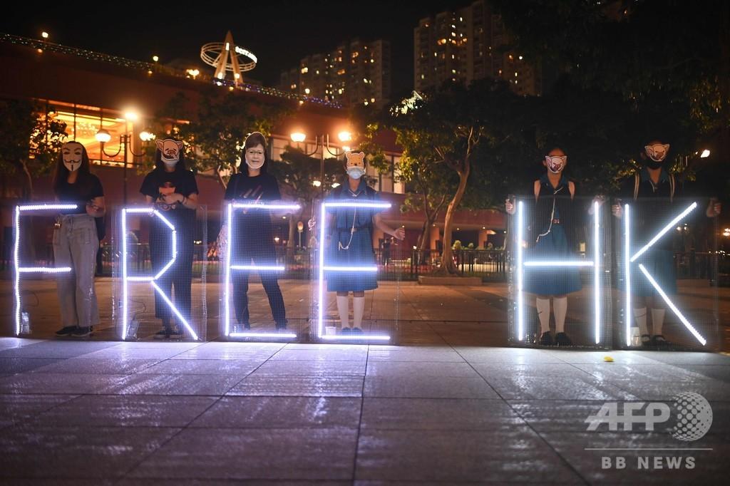 香港デモ発端の殺人事件容疑者、台湾での自首を示唆か