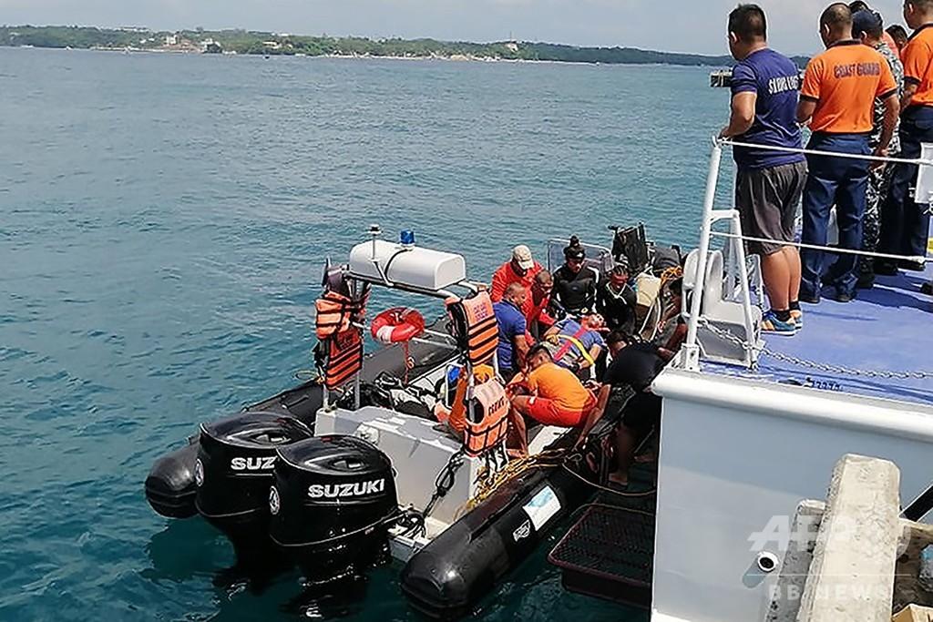 練習中にドラゴンボート転覆、選手7人死亡 比ボラカイ島沖