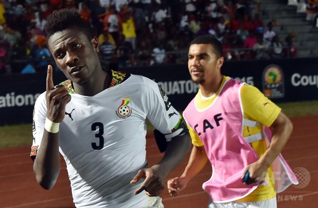 ガーナ、ギャンの劇的弾でアルジェリア下す アフリカネイションズカップ