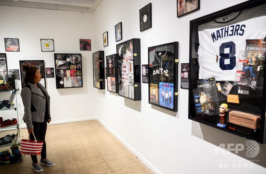 ヒップホップの商業的成功から40年、期間限定の博物館に先駆者ら一堂