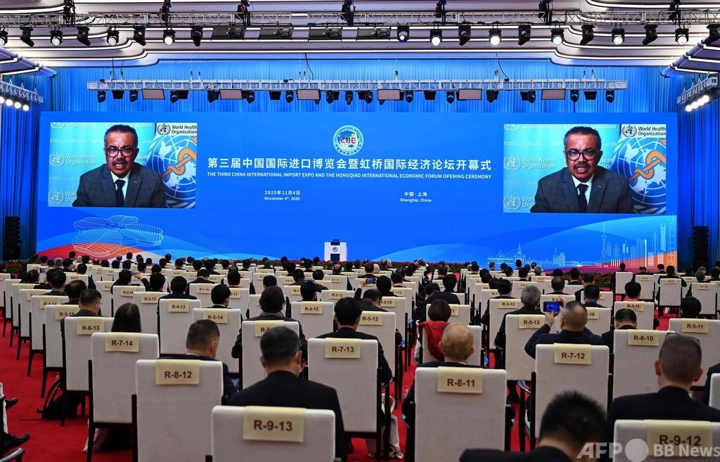 台湾、WHO年次総会に招かれず 中国の「妨害」を非難