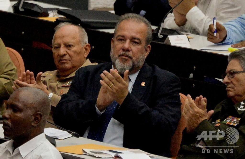 キューバに新首相誕生、故フィデル・カストロ氏以来43年ぶり