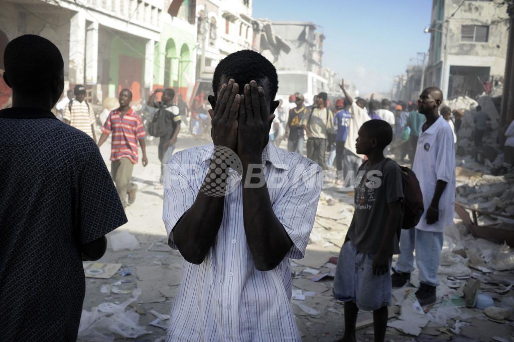 ハイチ、犠牲者7万人を埋葬 カナダで支援国会合開催へ