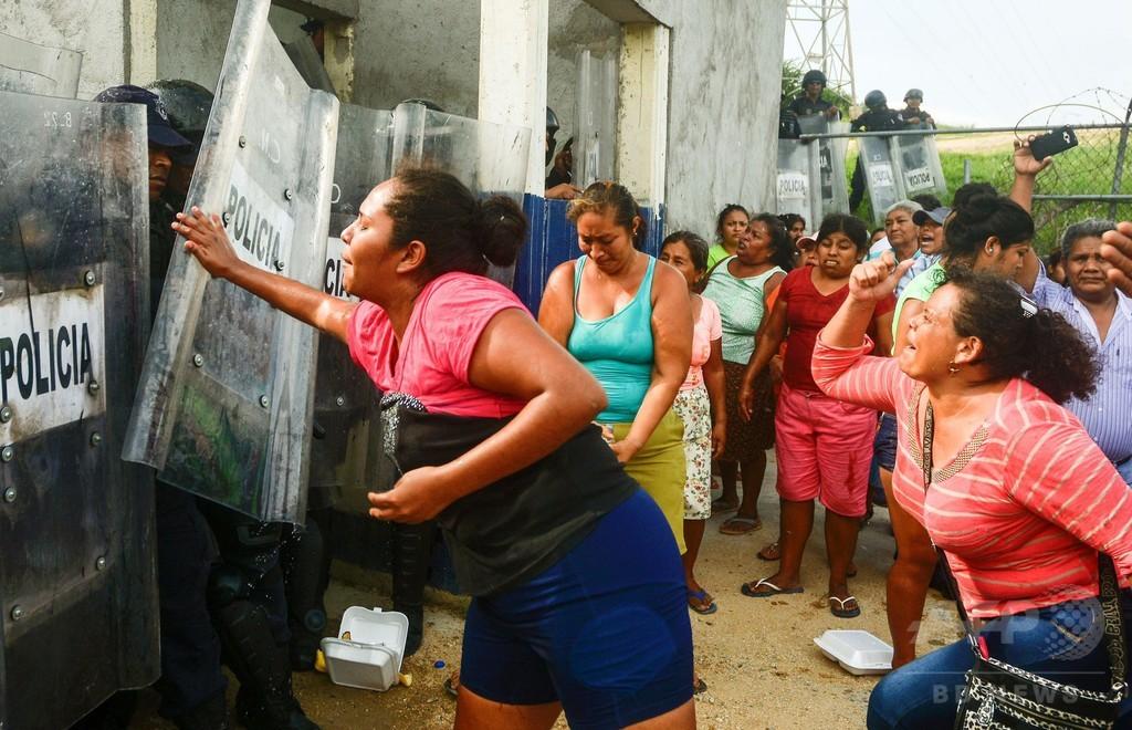 メキシコ刑務所内で対立グループが暴動、28人死亡 斬首も