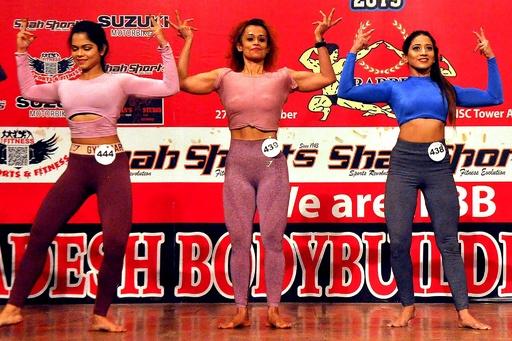 バングラ初、女子ボディービル大会開催 露出は少なめ