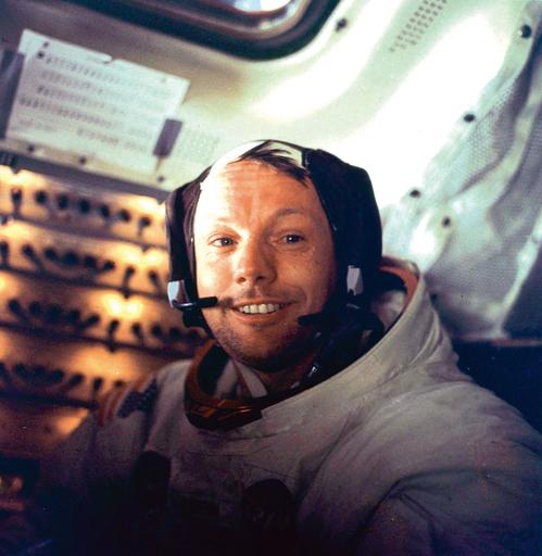 【写真特集】月面初着陸のアームストロング氏、その足跡を振り返る