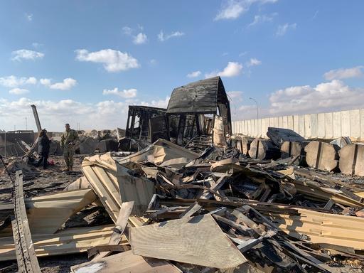 イランの基地攻撃、米兵34人が脳損傷や脳振とう