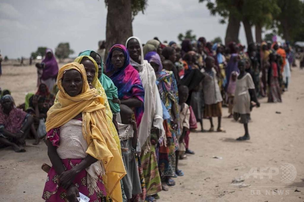 【AFP記者コラム】アフリカ経済大国の飢餓、ナイジェリアの避難民キャンプ