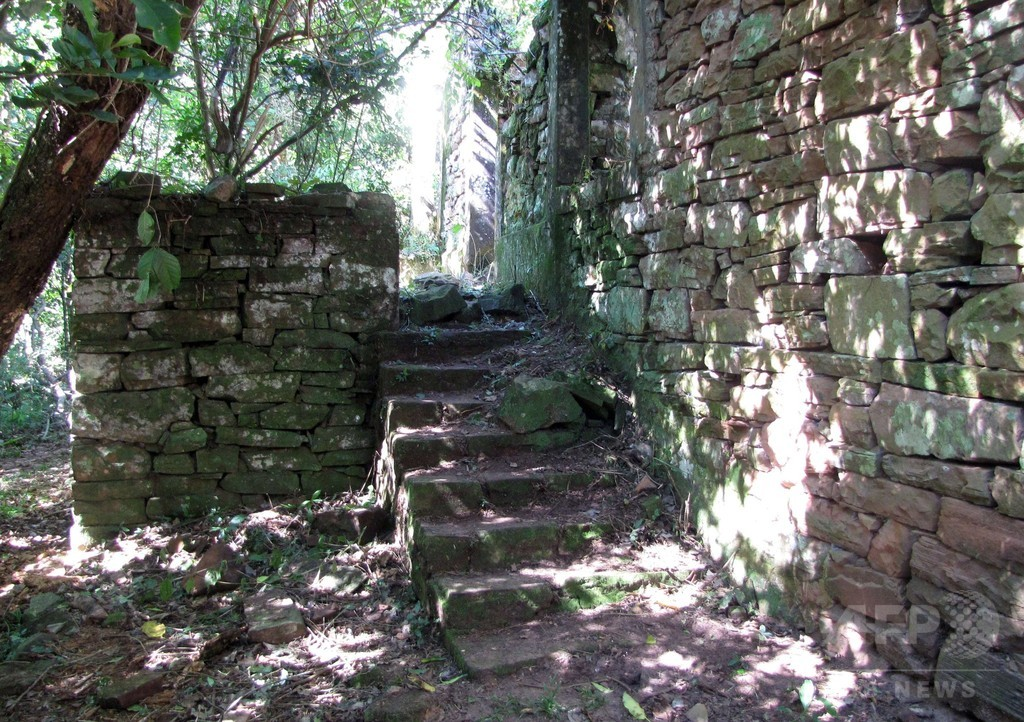 アルゼンチン密林でナチスの隠れ家発見?かぎ十字や独硬貨も