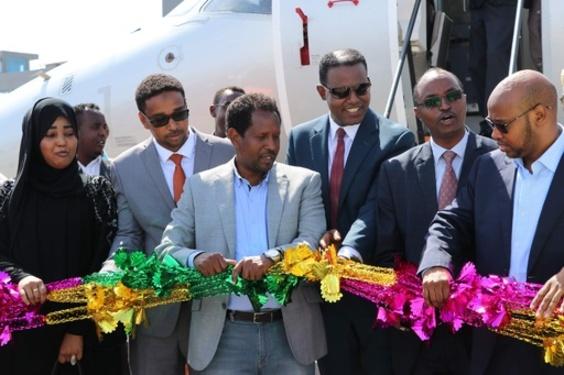 ソマリア首都に41年ぶりの直行便、エチオピアの航空会社