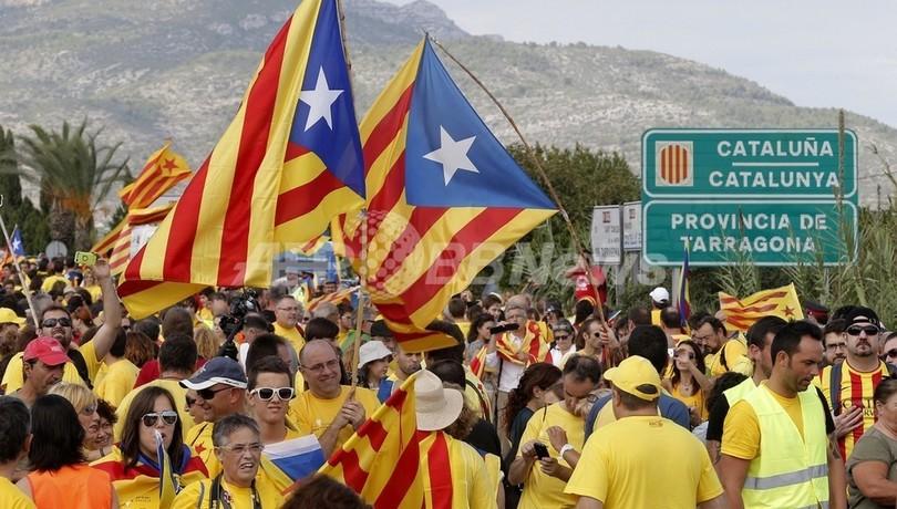 カタルーニャの独立機運をたきつける経済的不満、スペイン