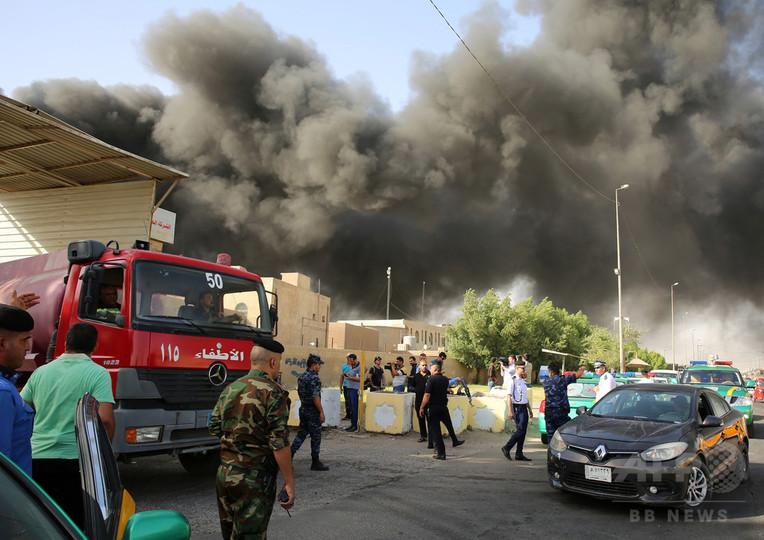 イラク最大の票保管庫で火災、選挙不正疑惑で再集計控え