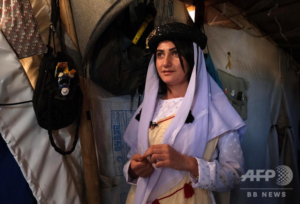 ISの奴隷から活動家へ、少数派ヤジディー教徒の少女 イラク