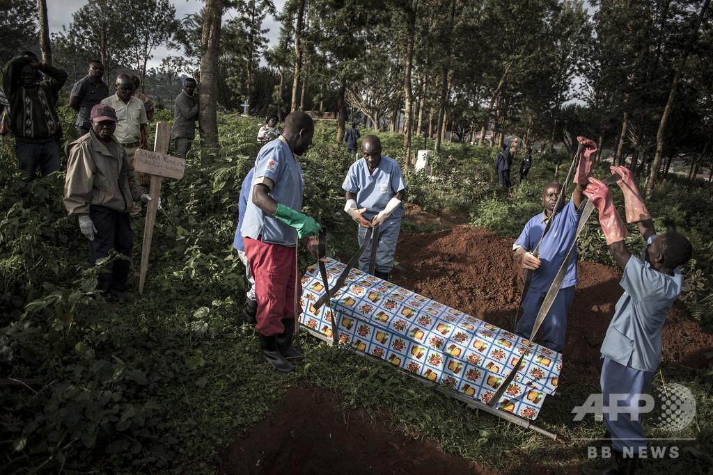 コンゴ民主共和国、昨年8月からのエボラ感染者が2000人超え