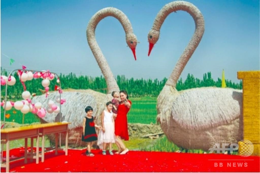 新疆にワラのテーマパーク アグリツーリズムで発展めざす