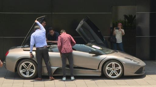 動画:警察押収の高級車など82台を競売へ、売上金は貧困地域の財源に メキシコ