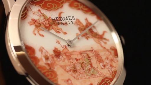 エルメスの腕時計に九谷焼の文字盤、伝統工芸士が語る