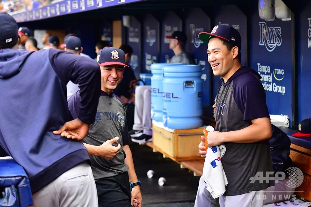 ヤンキース田中、MLBオールスターに代替選出 14年以来2度目
