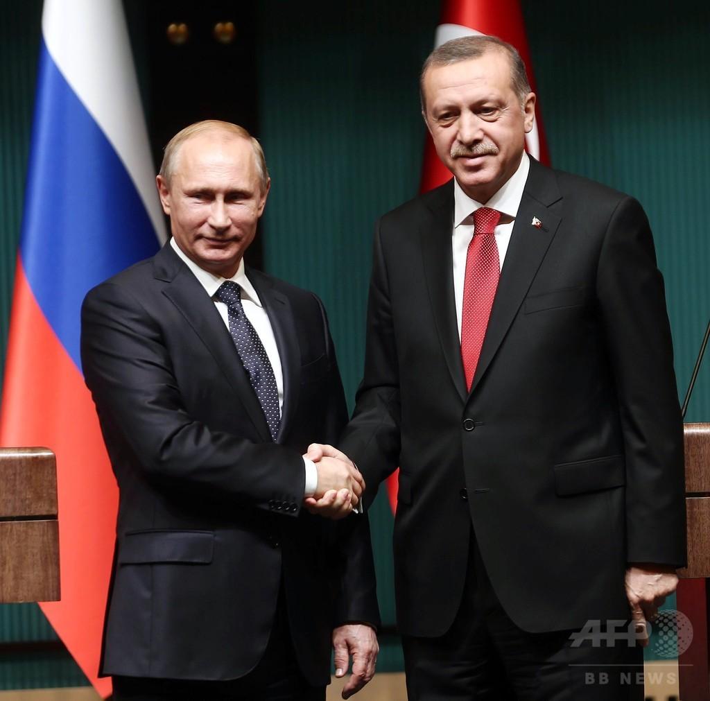 プーチン露大統領、南欧パイプライン計画の打ち切りを突如表明