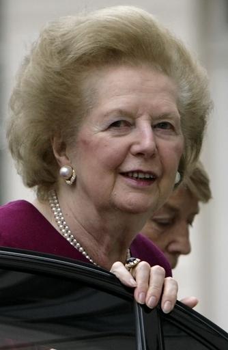 サッチャー元英首相の娘が回想録を出版へ