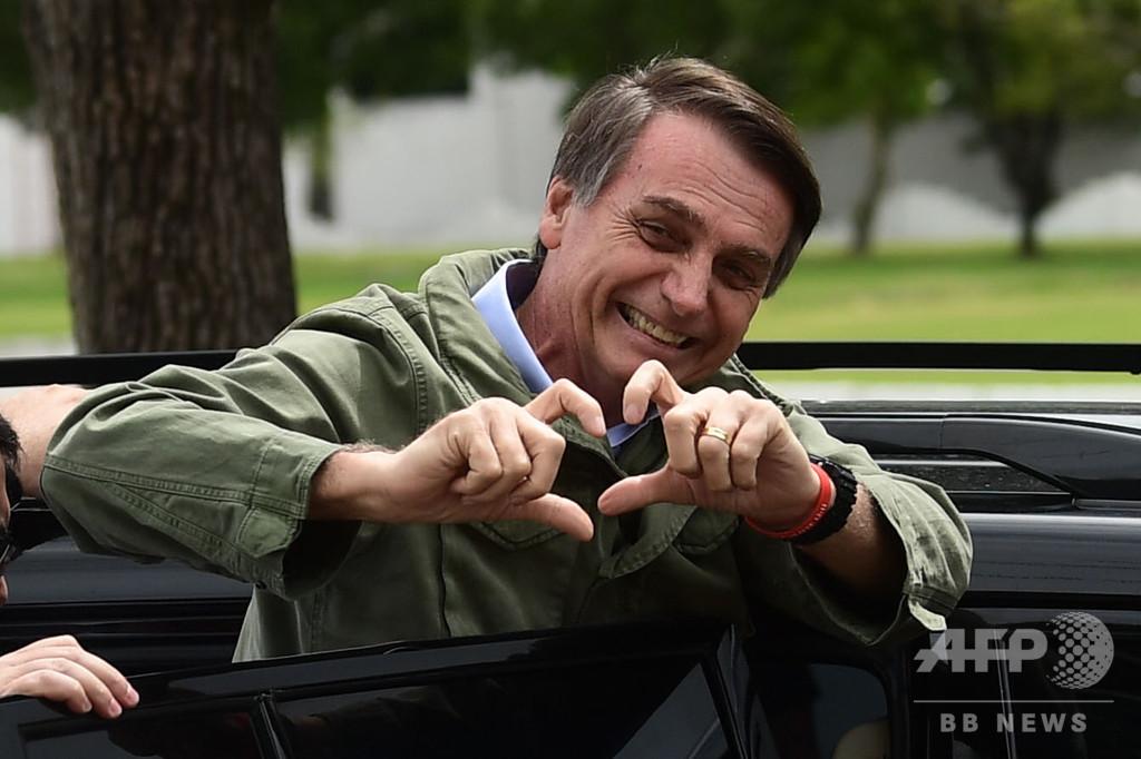 ブラジル次期大統領、在イスラエル大使館のエルサレム移転を表明 米に追随