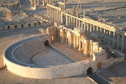 【写真特集】IS侵攻で破壊の危機、シリアの世界遺産パルミラ遺跡