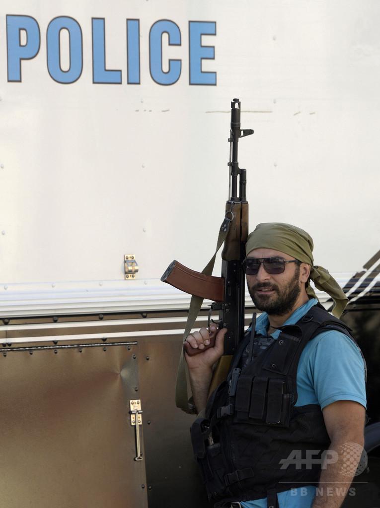 アルメニア、武装集団が警察施設占拠 医師4人を人質に