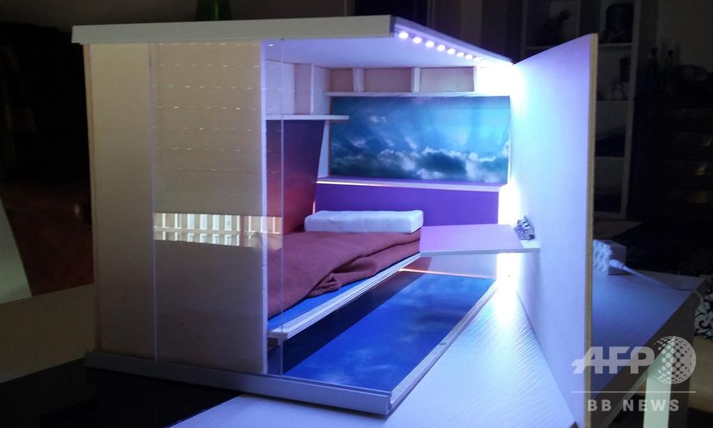 低所得者向け「ハチの巣」住宅が物議、日本のカプセルホテル参考 スペイン