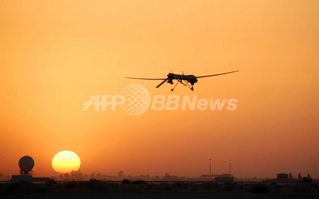 リュックに入る小型無人機「スイッチブレード」、米軍が導入へ