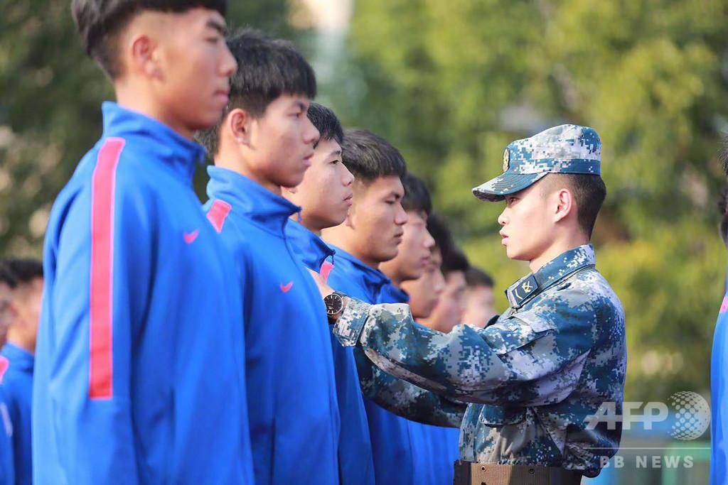 「サッカーは戦争」を地で行く中国のトレーニングが波紋