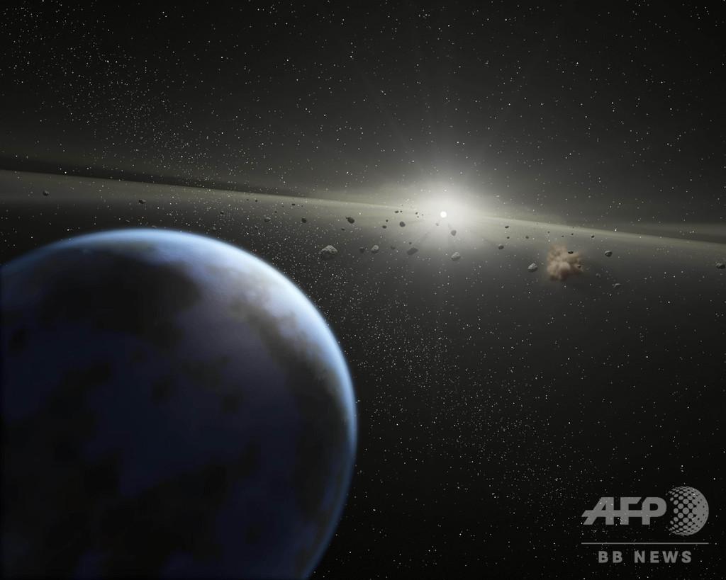 小惑星の衝突、恐竜時代以降に急増 研究