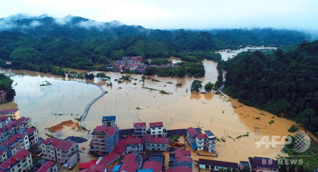 江西で豪雨水害、91万超が被災