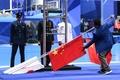 金メダルの孫楊怒り、競泳表彰式で中国国旗が落下 アジア大会