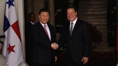 動画:習氏、台湾と断交のパナマ訪問 中南米での影響力強化狙う