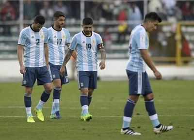 メッシ出場停止のアルゼンチンに暗雲、ボリビアに敗れW杯出場圏内から転落