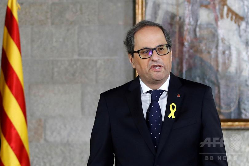 カタルーニャ州新首相、収監・勾留中の前閣僚4人を政府「補佐官」に任命