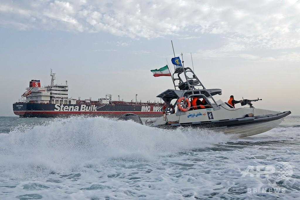 拿捕した英船籍タンカーを数日内に解放する可能性、イラン外務省報道官