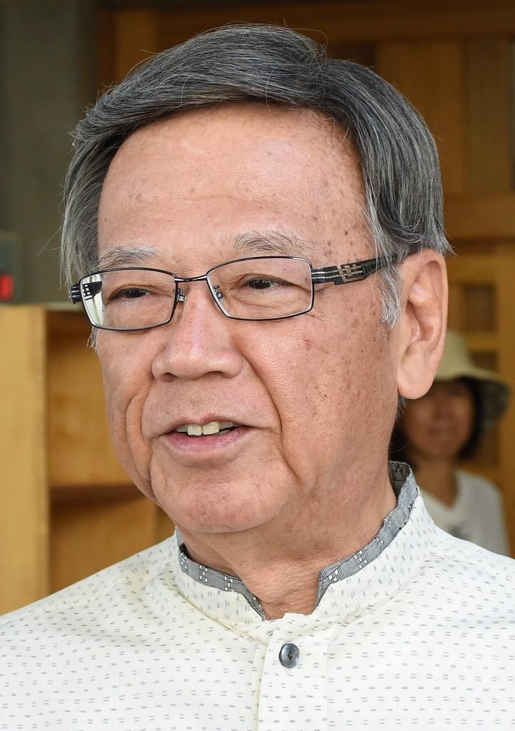 沖縄知事選、翁長氏が当選確実