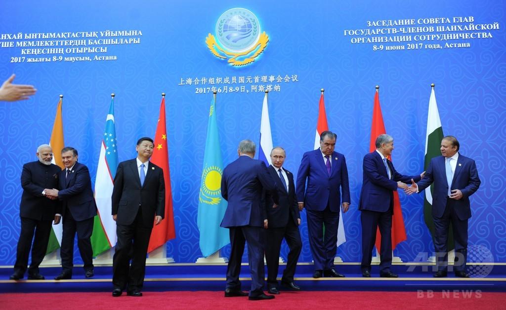 インドとパキスタンが上海協力機構に正式加盟