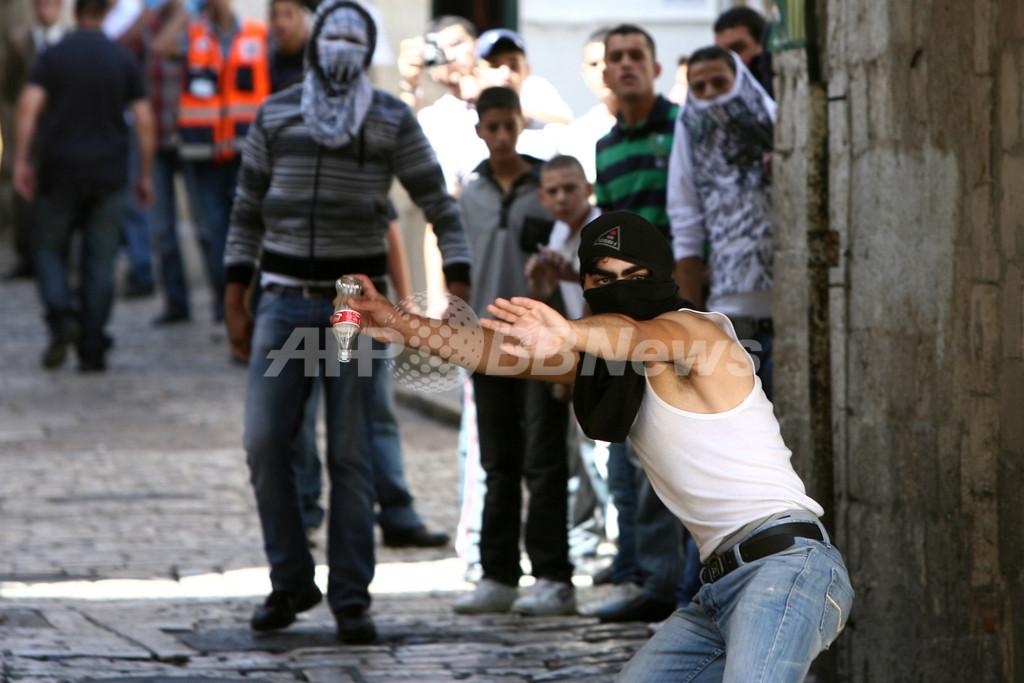 ユダヤ・イスラム両教徒が衝突、エルサレムのアルアクサ・モスク